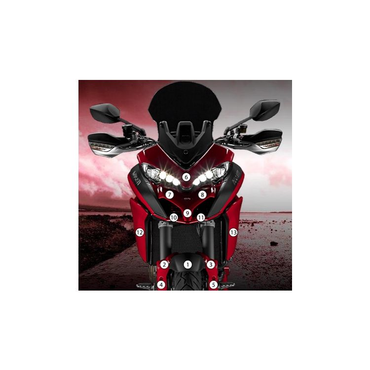 Eazi-Grip Eazi-Guard Protective Film Kit Ducati Multistrada 1200 / S 2015-2017