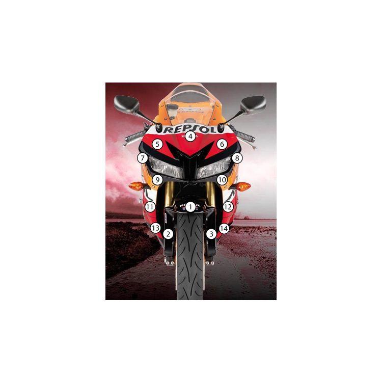 Eazi-Grip Eazi-Guard Protective Film Kit Honda CBR600RR 2013-2021