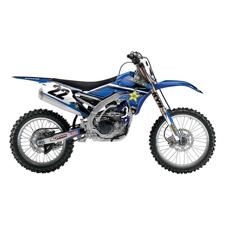 Factory Effex Rockstar Shroud / Airbox Graphics Kit Yamaha YZ125 / YZ250 2015-2018