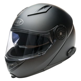 Bilt Techno 2.0 Sena Bluetooth Modular Helmet (Color: Matte Black / Size: XL) 1181229