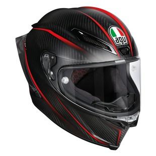 AGV Pista GP R Carbon Gran Premio Helmet (Color: Matte Black/Red / Size: SM) 1183502
