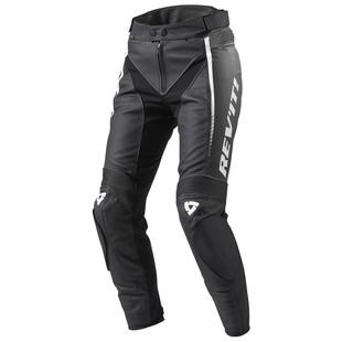 REV'IT! Xena 2 Women's Pants (Color: Black/White / Size: 42 (Short)) 1184347