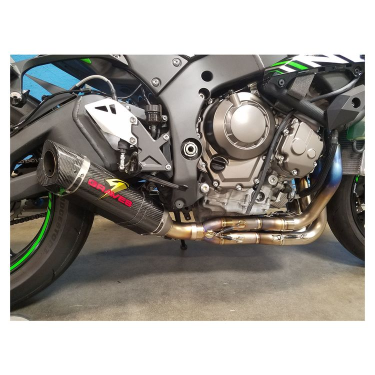 Graves Link Low Mount Exhaust System Kawasaki ZX-10R 2016-2018
