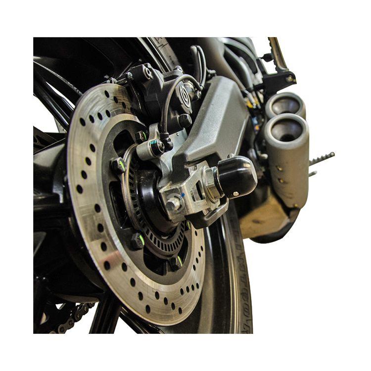 Woodcraft Rear Axle Sliders Ducati Scrambler / Monster 797 / 797+