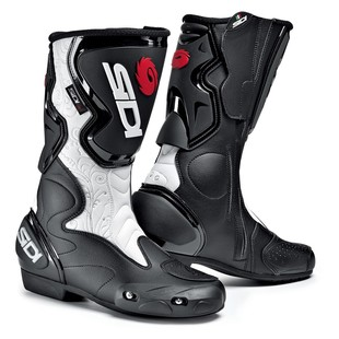 SIDI Fusion Lei Women's Boots (Color: White/Black / Size: 4.5/36) 885776