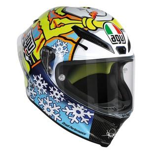 AGV Pista GP Winter Test Snow Man 2016 Helmet (Color: Yellow/Blue / Size: XL) 1160324