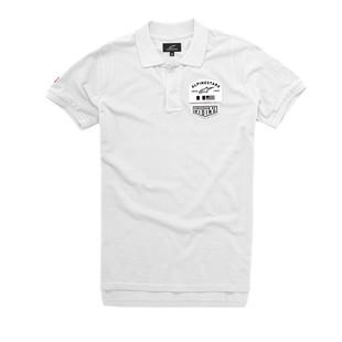 Alpinestars Pivot Polo Shirt (Color: White / Size: MD) 1097015
