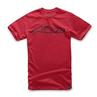 Alpinestars Blaze T-Shirt (Color: Red/Black / Size: LG) 1096886