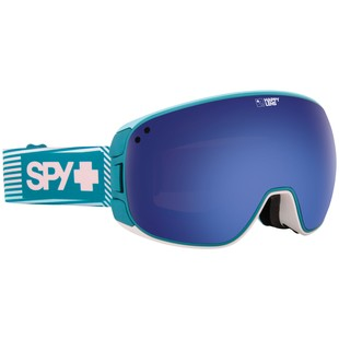Spy Bravo Snow Goggles (Color: Stacked Pink / Lens: Happy Dark Blue Spectra/Happy Lucid Blue) 1189076