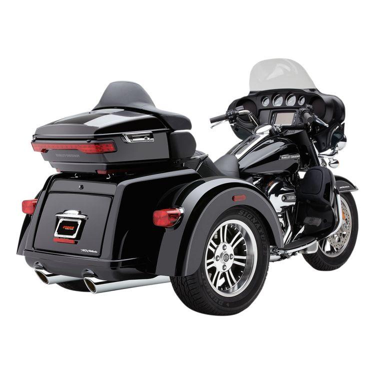 Cobra 909 Slip-On Mufflers For Harley Trike 2009-2020