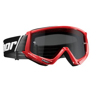 Thor Combat Sand Goggles (Color: Red/Black / Lens: Smoke) 1191516
