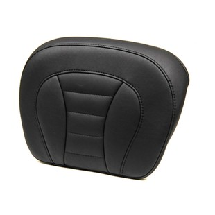 Mustang Passenger Backrest Pad For Harley Touring 2014-2018 (Color: Black / Type: Deluxe) 1192759