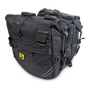 Wolfman Enduro Saddlebags (Color: Black) 1193675