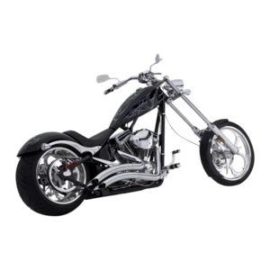For Chopper 2007 Big Dog K-9 Husky Teardrop Chrome Motorcycle Rearview Mirrors