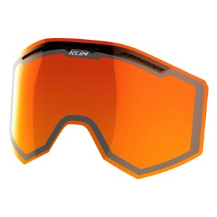 Klim Radius / Radius Pro Goggle Double Lens (Color: Orange) 981194