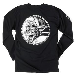 Biltwell Panther T-Shirt (Color: Black / Size: LG) 1194945