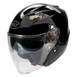 Open Face Helmets 3 4 Cafe Racer Style Motorcycle Helmets Cycle Gear