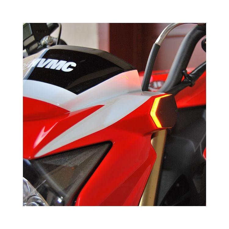 New Rage Cycles LED Front Turn Signals Kawasaki Z125 Pro 2017-2019