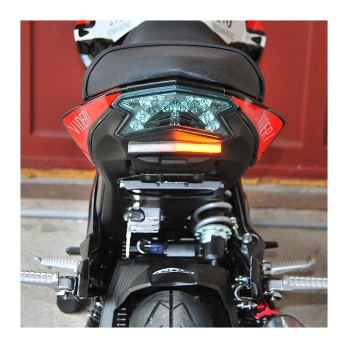New Rage Cycles Kawasaki Z125 Fender Eliminator