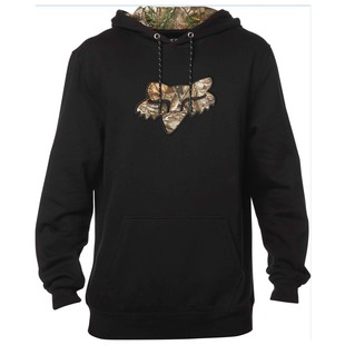 Fox Racing Realtree Pullover Hoody (Color: Black / Size: XL) 1195445
