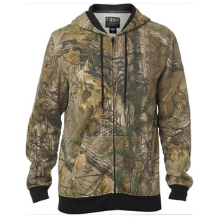 Fox Racing Realtree Zip Front Hoody (Color: Camo / Size: XL) 1195458