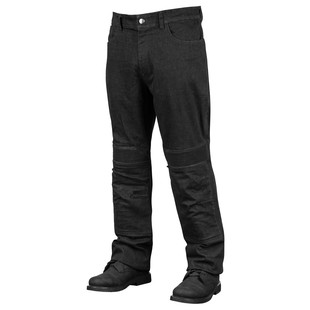 Speed and Strength Rage With The Machine Leather/Denim Jeans (Color: Black / Size: 40X32) 1195680