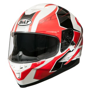Bilt Force One Helmet (Color: White/Red/Black / Size: SM) 1196879