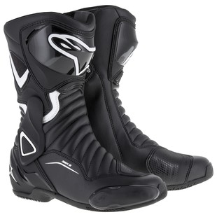 Alpinestars Stella SMX 6 v2 Boots (Color: Black/White / Size: 38) 1197303