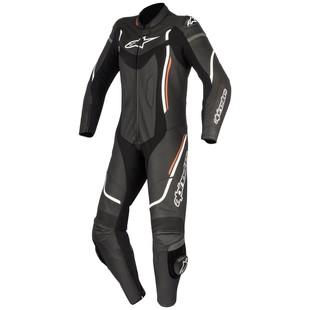 Alpinestars Stella Motegi v2 Race Suit (Color: Black/White/Red / Size: 38) 1197135