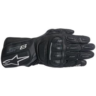 Alpinestars Stella SP-8 v2 Gloves (Color: Black/Grey / Size: SM) 1197595