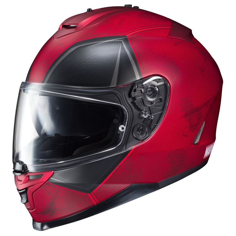 129ef3bdc HJC IS-17 Deadpool Helmet - Cycle Gear
