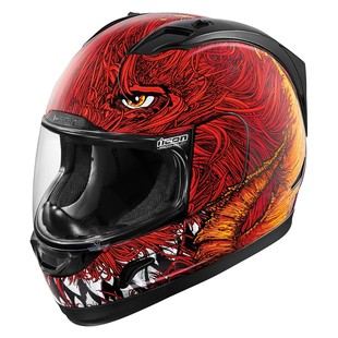 Icon Alliance Lucifur Helmet (Color: Red / Size: XS) 1198359