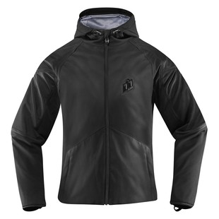 Icon Merc Stealth Women's Jacket (Color: Stealth Black / Size: XL) 1198253