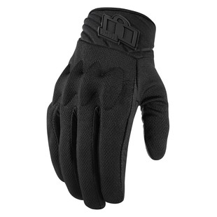 Icon Anthem 2 Women's Gloves (Color: Stealth Black / Size: SM) 1198193