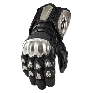 Icon TiMax Long Gloves (Color: Black / Size: LG) 1198182