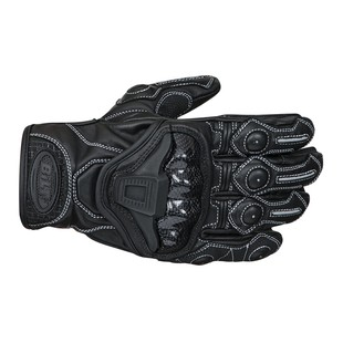 Bilt Trophy Leather Gloves (Color: Black / Size: XL) 1199701