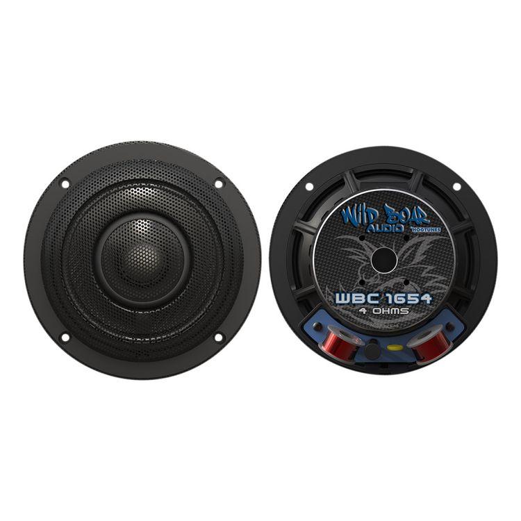 "Wild Boar By Hogtunes 6.5"" 200 Watt Speakers For Harley Touring 2014-2020"