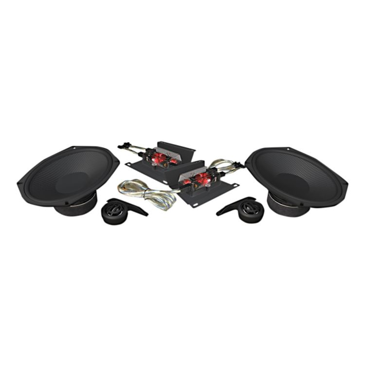"""Wild Boar By Hogtunes 6"""" x 9"""" 300 Watt Speakers For Harley Touring 2014-2020"""