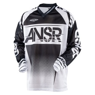 Answer Youth Syncron Air Jersey (Color: Black/White / Size: YTH XS) 1200216