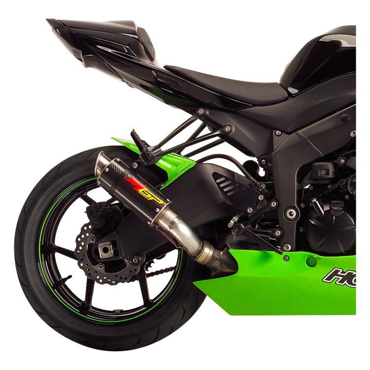 Hotbodies Racing Mgp Slip On Exhaust Kawasaki Ninja Zx6r Zx636