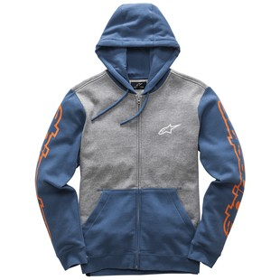Alpinestars Machine Hoody (Color: Heather Grey/Blue / Size: XL) 1200987