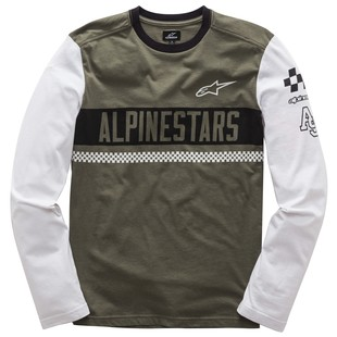 Alpinestars Motivate T-Shirt (Color: Military Green / Size: LG) 1200826