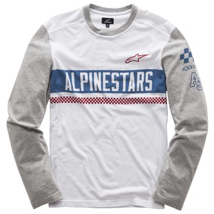 Alpinestars Motivate T-Shirt (Color: White / Size: LG) 1200831