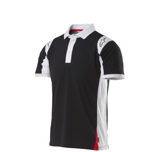 Alpinestars Spielberg Polo Shirt (Color: Black / Size: XL) 1200917