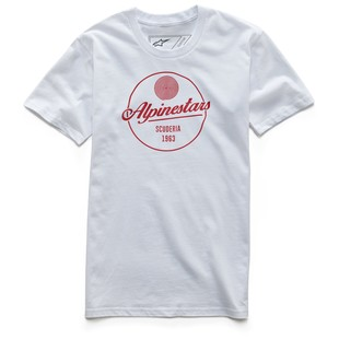 Alpinestars Decal T-Shirt (Color: White / Size: SM) 1200889