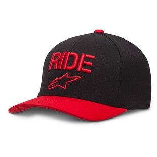 Alpinestars Ride Curve Hat (Color: Red/Black / Size: LG-XL) 1200574