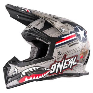 O'Neal 5 Series Wingman Helmet (Color: Silver/White / Size: SM) 1201755
