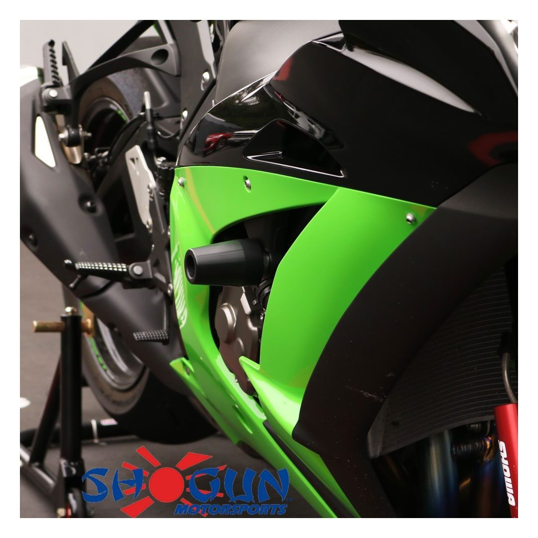 No Cut Frame Slider Protector For 2006 2007 Kawasaki Zx10R Zx-10R Zx 10R Carbon