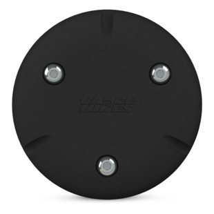 Vance & Hines Skull Cap VO2 Upsweep Air Cleaner Insert (Type: Upsweep / Finish: Black) 1202880