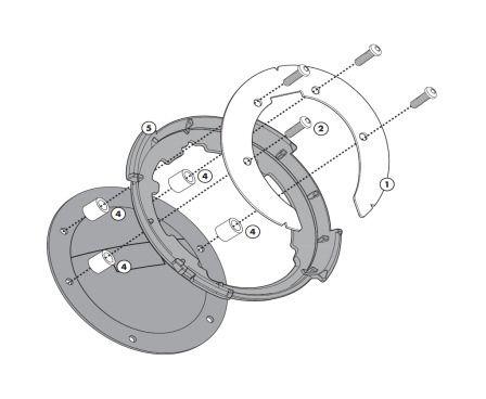 ZT480F-2R Givi Tanklock Tanklocked Tank Ring
